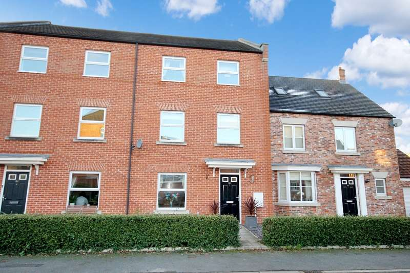 4 Bedrooms Terraced House for sale in Allerton Close, Northallerton DL7 8NX