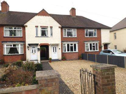 3 Bedrooms Terraced House for sale in Welland Park Road, Market Harborough, Leicestershire