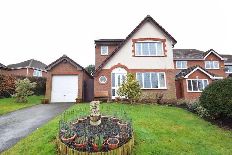 3 Bedrooms Detached House for sale in 35 Llwyn Glas, Broadlands, Bridgend, Bridgend County Borough, CF31 5AH.