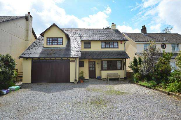 4 Bedrooms Detached House for sale in Church Road, Highampton, Beaworthy, Devon
