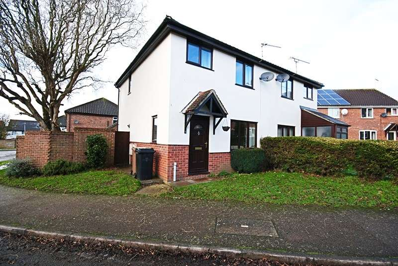 3 Bedrooms Semi Detached House for sale in Spiers Way, Diss