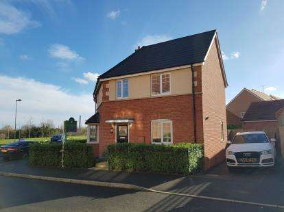3 Bedrooms Detached House for sale in Sam Harrison Way, Duston, Northampton