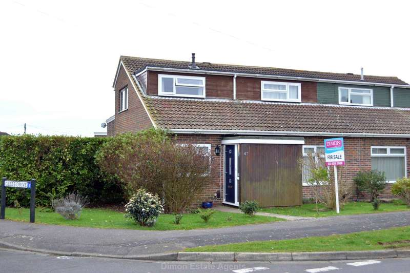 4 Bedrooms Semi Detached House for sale in Gorran Avenue, Gosport