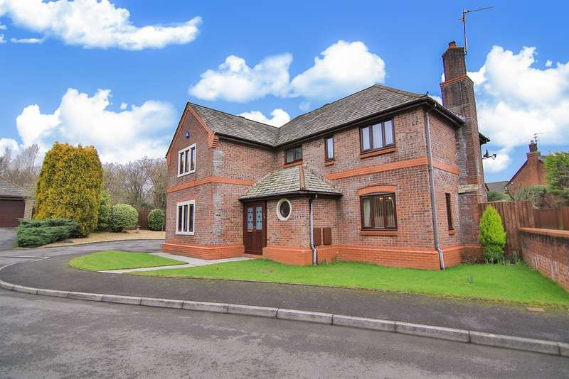 4 Bedrooms Detached House for sale in Cae Garw, Thornhill, Cardiff