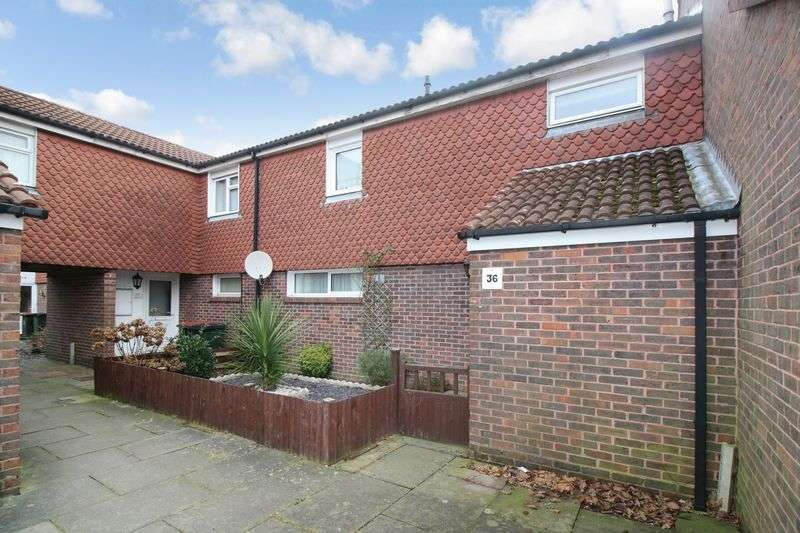 3 Bedrooms Terraced House for sale in Vanbrugh Close, Crawley