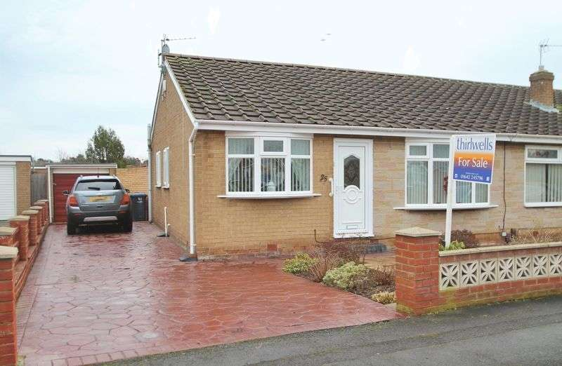 2 Bedrooms Semi Detached Bungalow for sale in Larkspur Road, Marton