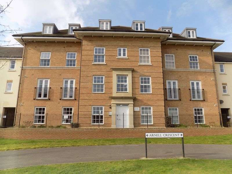 2 Bedrooms Flat for sale in Arnell Crescent, Redhouse
