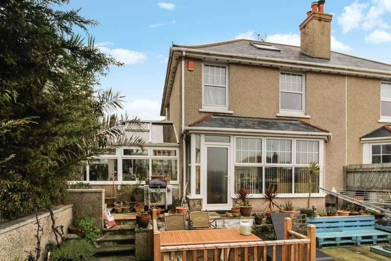 3 Bedrooms Semi Detached House for sale in Park Rise, Falmouth
