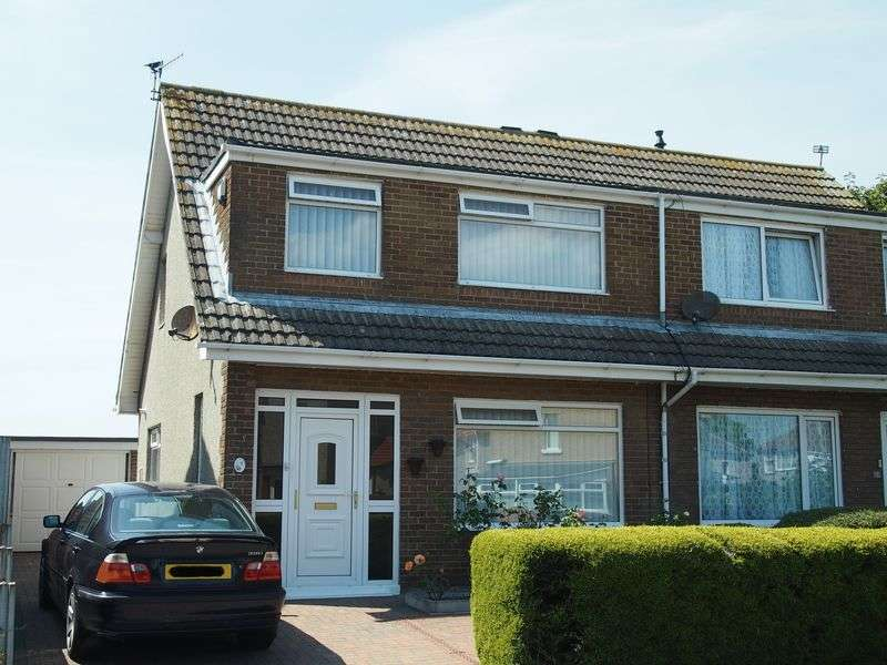 3 Bedrooms Semi Detached House for sale in Crewgarth Road, Westgate, Morecambe