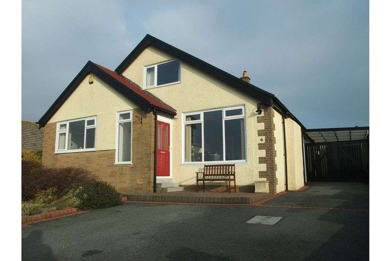 4 Bedrooms Detached Bungalow for sale in 6 Raikes Hill Drive, Hest Bank, Lancaster
