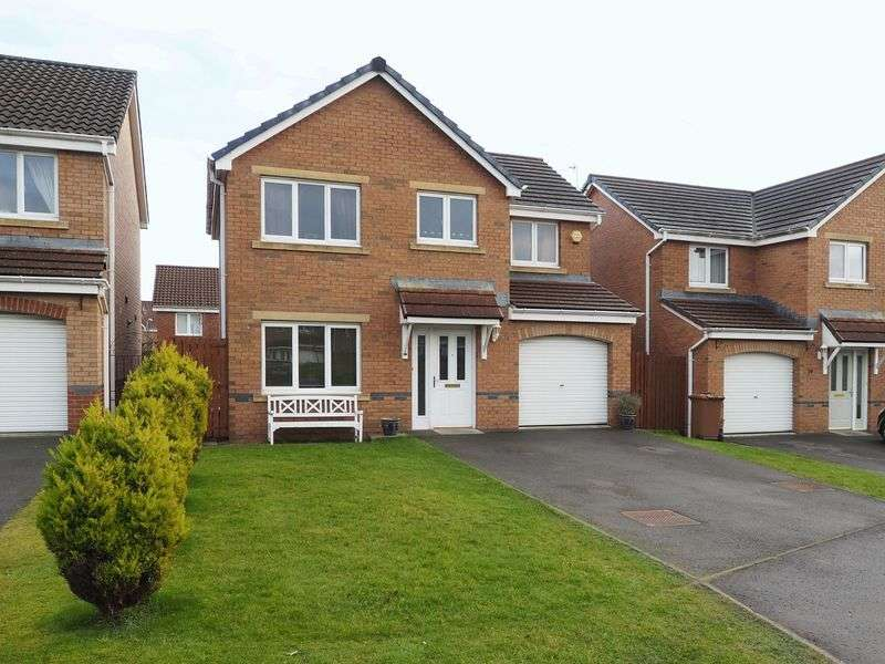 4 Bedrooms Detached House for sale in West Holmes Place, Broxburn, EH52 5NJ
