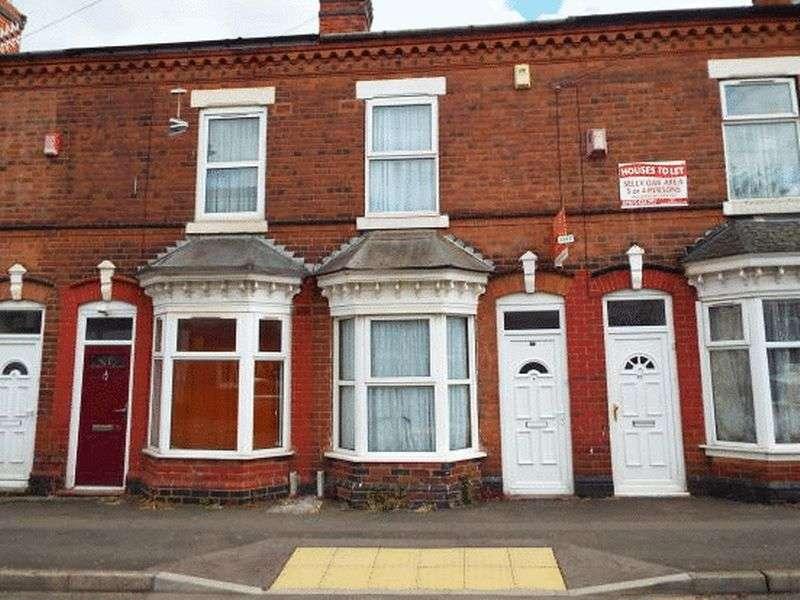 2 Bedrooms Terraced House for sale in Dale Road, Selly Oak, Birmingham B29 6AG