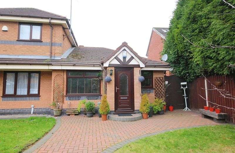 2 Bedrooms Semi Detached Bungalow for sale in Canterbury Park, Allerton, Liverpool, L18