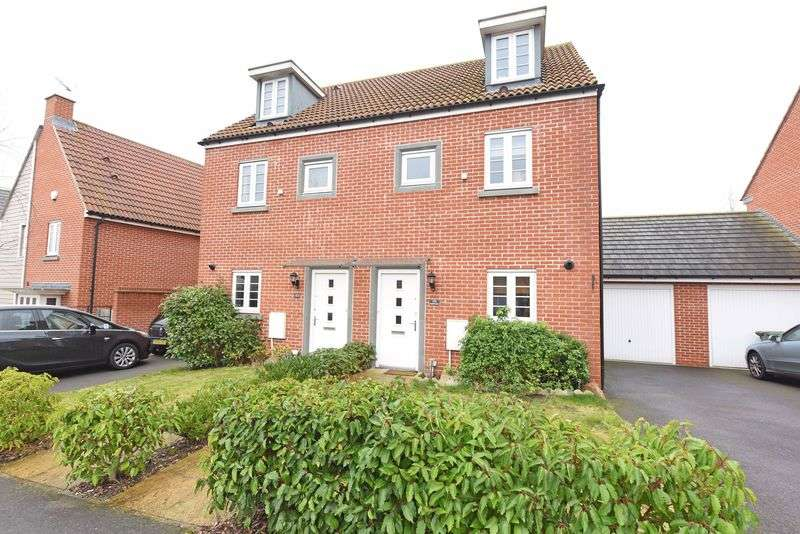 3 Bedrooms Semi Detached House for sale in Appleton Drive, Basingstoke