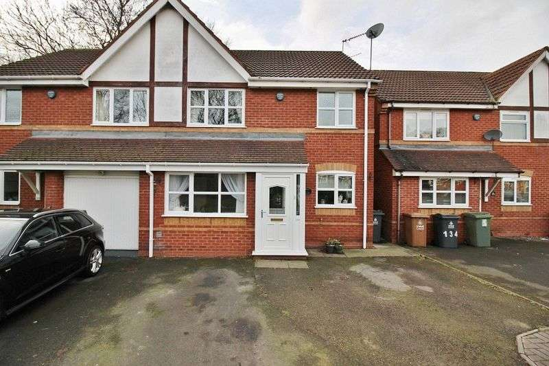 4 Bedrooms Semi Detached House for sale in Hawkswood Drive, Wednesbury