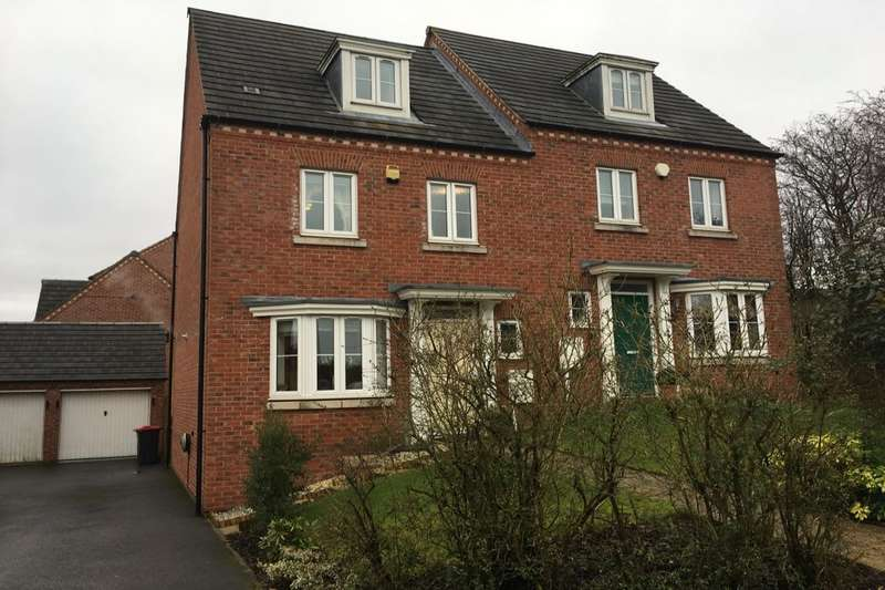 4 Bedrooms Semi Detached House for sale in Pippin Close, Selston, Nottingham, NG16