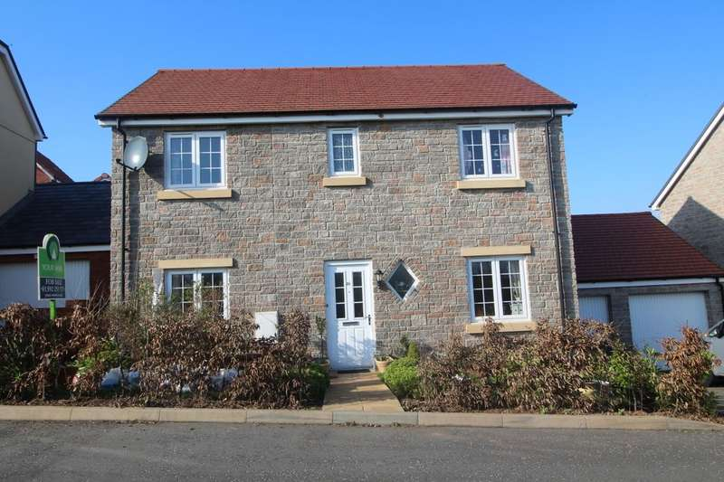 4 Bedrooms Detached House for sale in Post Coach Way, Cranbrook, Exeter, EX5