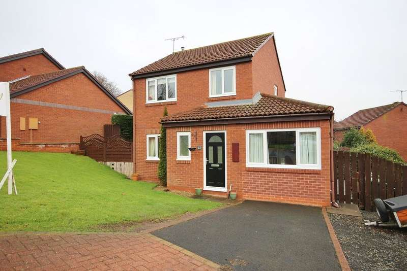 3 Bedrooms Detached House for sale in Royal Oak Gardens, Alnwick, Northumberland NE66