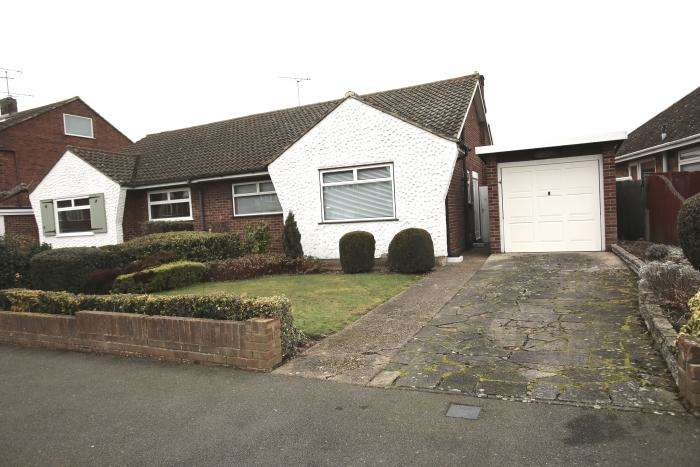 2 Bedrooms Semi Detached Bungalow for sale in CHURCHILL CLOSE, ONGAR CM5