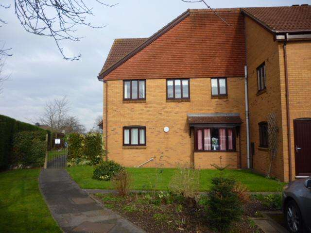 2 Bedrooms Flat for sale in PRIORY COURT, PRIORY ROAD, OLDSWINFORD, STOURBRIDGE DY8