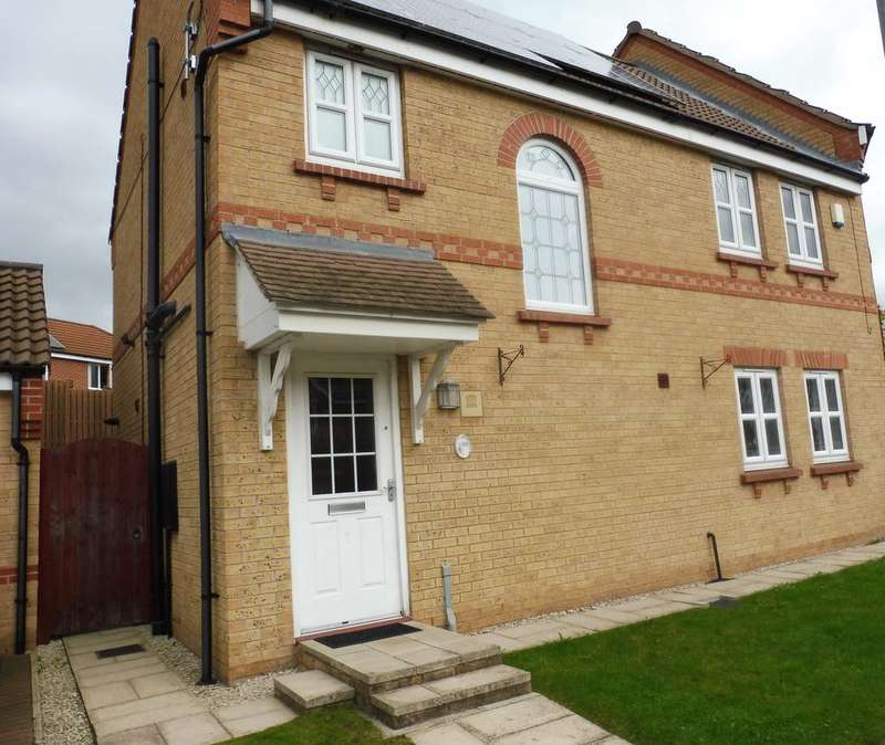 3 Bedrooms Semi Detached House for sale in Roebuck Ridge, Jump, Barnsley, South Yorkshire S74