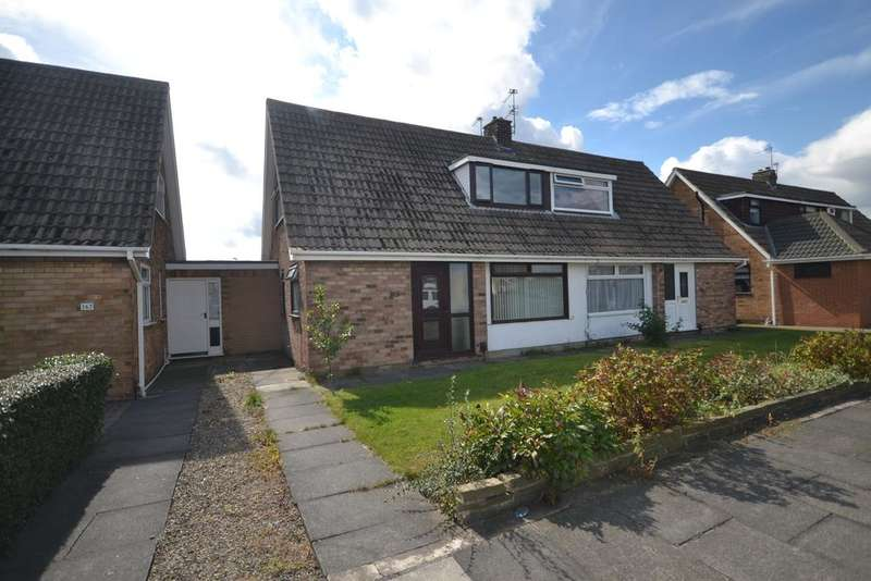 2 Bedrooms Semi Detached Bungalow for sale in Castle Road, Redcar TS10