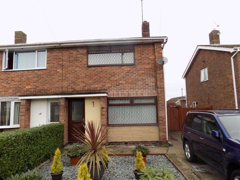 3 Bedrooms Semi Detached House for sale in Spinney Close, Immingham DN40