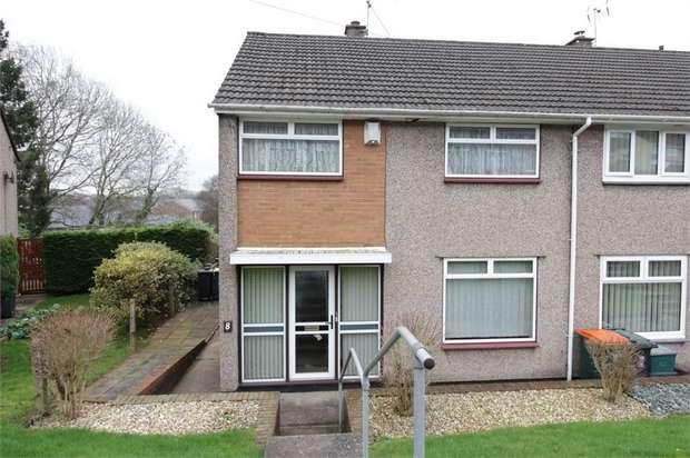 3 Bedrooms End Of Terrace House for sale in Tamar Close, Bettws, NEWPORT