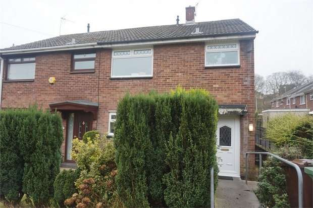 3 Bedrooms Semi Detached House for sale in Croeso Square, Blackwood, Caerphilly