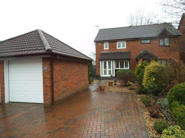 3 Bedrooms Semi Detached House for sale in Rushfield Gardens, Bridgend CF31