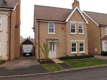 3 Bedrooms Detached House for sale in Maunder Avenue, Biggleswade, Bedfordshire, .