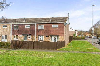 3 Bedrooms End Of Terrace House for sale in Sturdee Close, Daventry, Northamptonshire