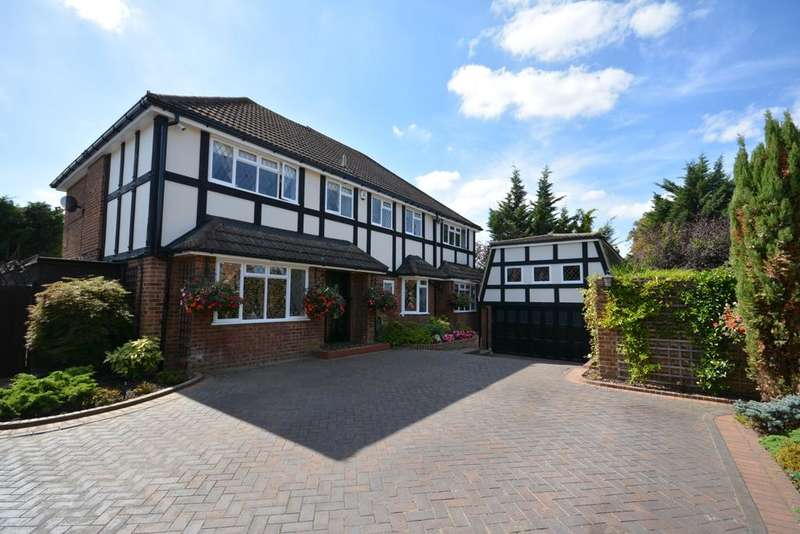 5 Bedrooms Detached House for sale in Dalewood Close, Emerson Park, Hornchurch, Essex RM11