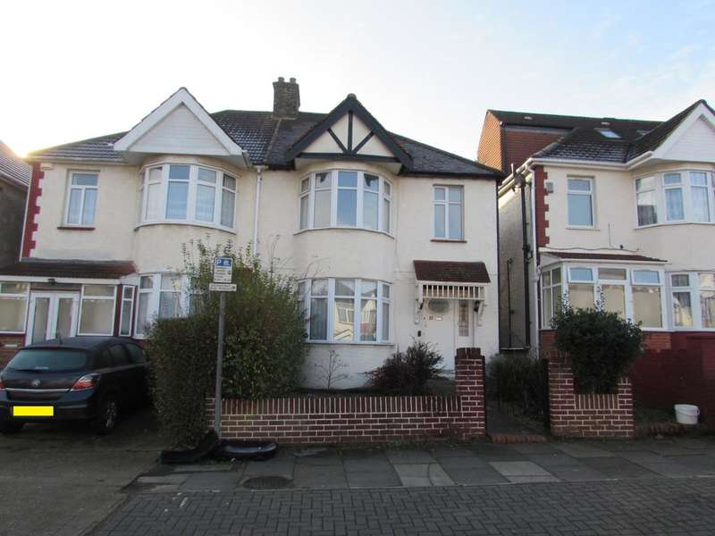 3 Bedrooms Semi Detached House for sale in Braemar Avenue, Wembley, HA0