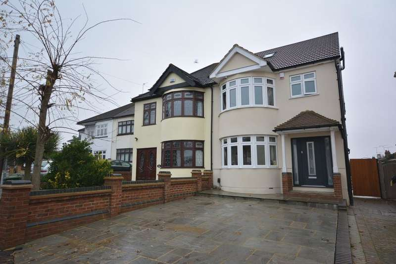 4 Bedrooms Semi Detached House for sale in Cecil Avenue, Ardleigh Green, Hornchurch RM11