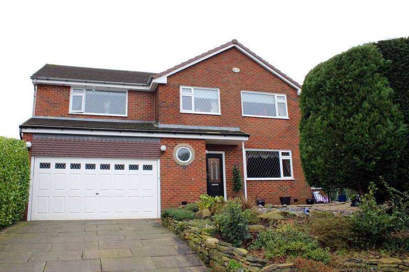 4 Bedrooms Detached House for sale in Milverton Close, Lostock