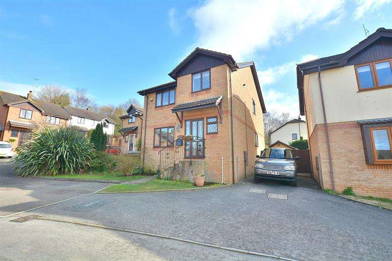 4 Bedrooms Detached House for sale in Blaney Way, Corfe Mullen, Wimborne
