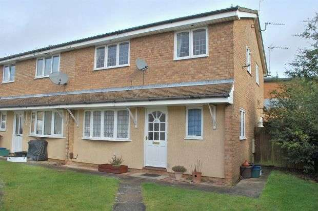 2 Bedrooms Terraced House for sale in Javelin Close, Duston, Northampton NN5 6PL