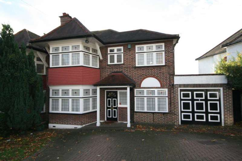 5 Bedrooms Semi Detached House for sale in Mount Stewart Avenue, Kenton HA3