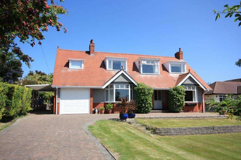4 Bedrooms Detached House for sale in Overlea Crescent, Deganwy LL31