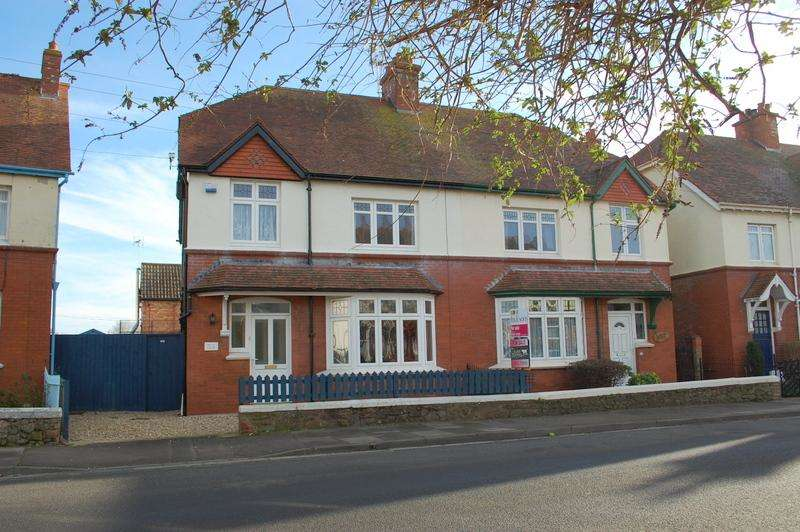 3 Bedrooms Semi Detached House for sale in Glenmore Road, Minehead TA24