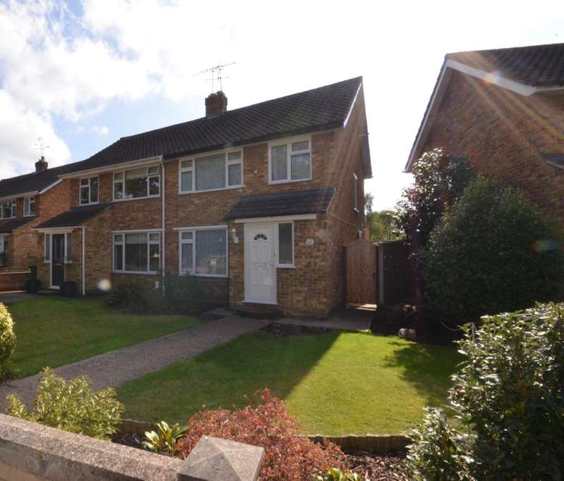 3 Bedrooms Semi Detached House for sale in Bramwell Close, Lower Sunbury TW16