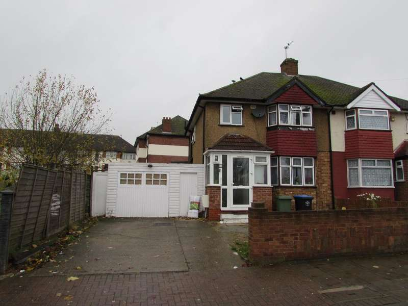 3 Bedrooms Semi Detached House for sale in Woodstock Road, Wembley HA0