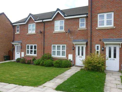 3 Bedrooms Town House for sale in Mossgate Walk, Heysham LA3