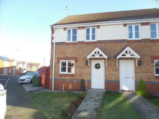 3 Bedrooms Semi Detached House for sale in MATTHEWS DRIVE, ST HELENS, BISHOP AUCKLAND