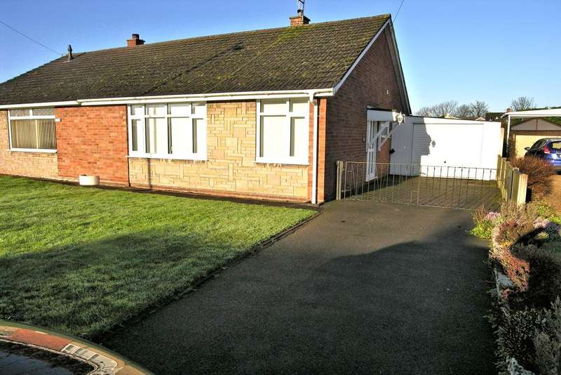 2 Bedrooms Semi Detached Bungalow for sale in CRAB LANE, TRINITY FIELDS, STAFFORD ST16