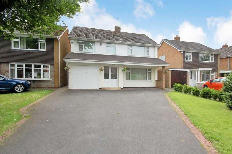 4 Bedrooms Detached House for sale in Redhouse Road, Tettenhall, WOLVERHAMPTON WV6
