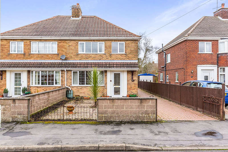 3 Bedrooms Semi Detached House for sale in Greenfields Drive, Coalville, LE67