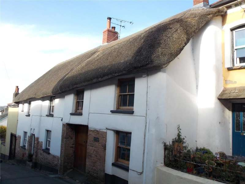 3 Bedrooms End Of Terrace House for sale in Eddy's Cottage, 23 High Street, Hatherleigh