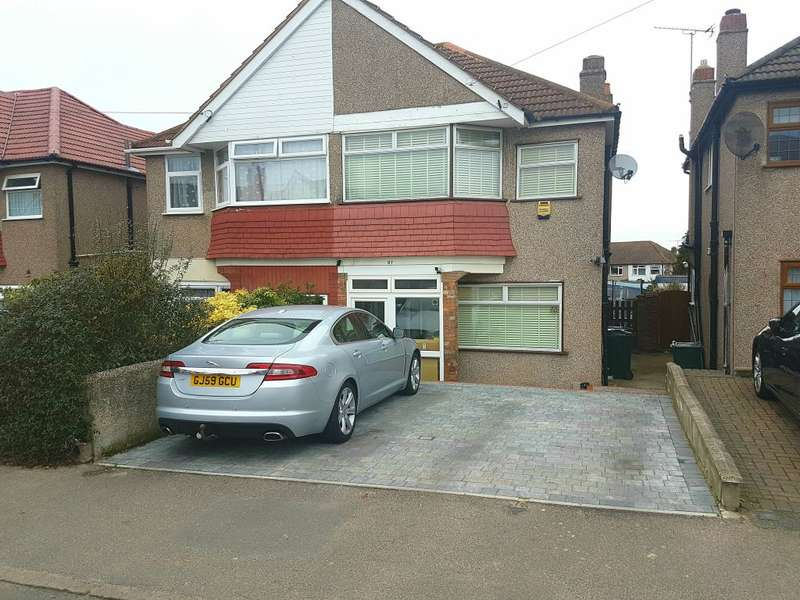 3 Bedrooms Semi Detached House for sale in Hallford Way, Dartford, Kent, DA1 3AA